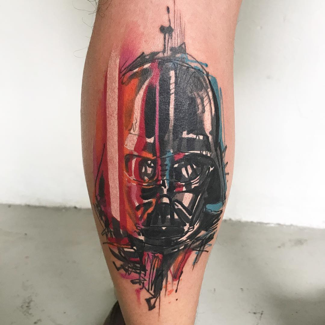 darth vader tattoo by ael lim singapore. Black Bedroom Furniture Sets. Home Design Ideas