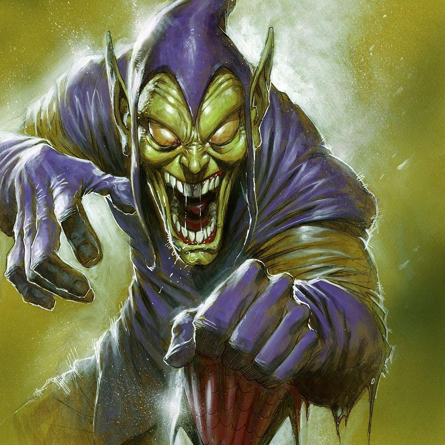 Green Goblin Painting