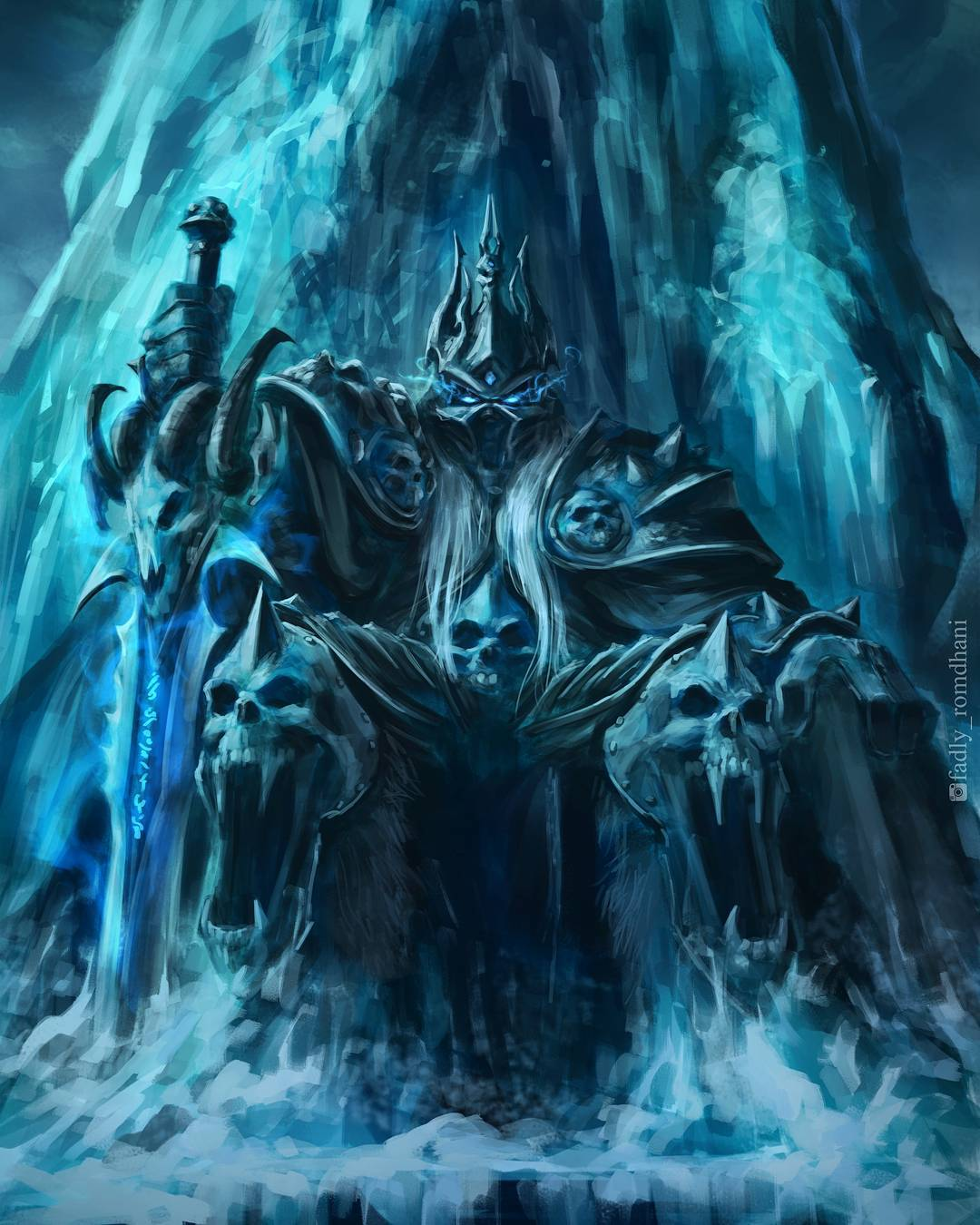 the lich king by fadly romdhani